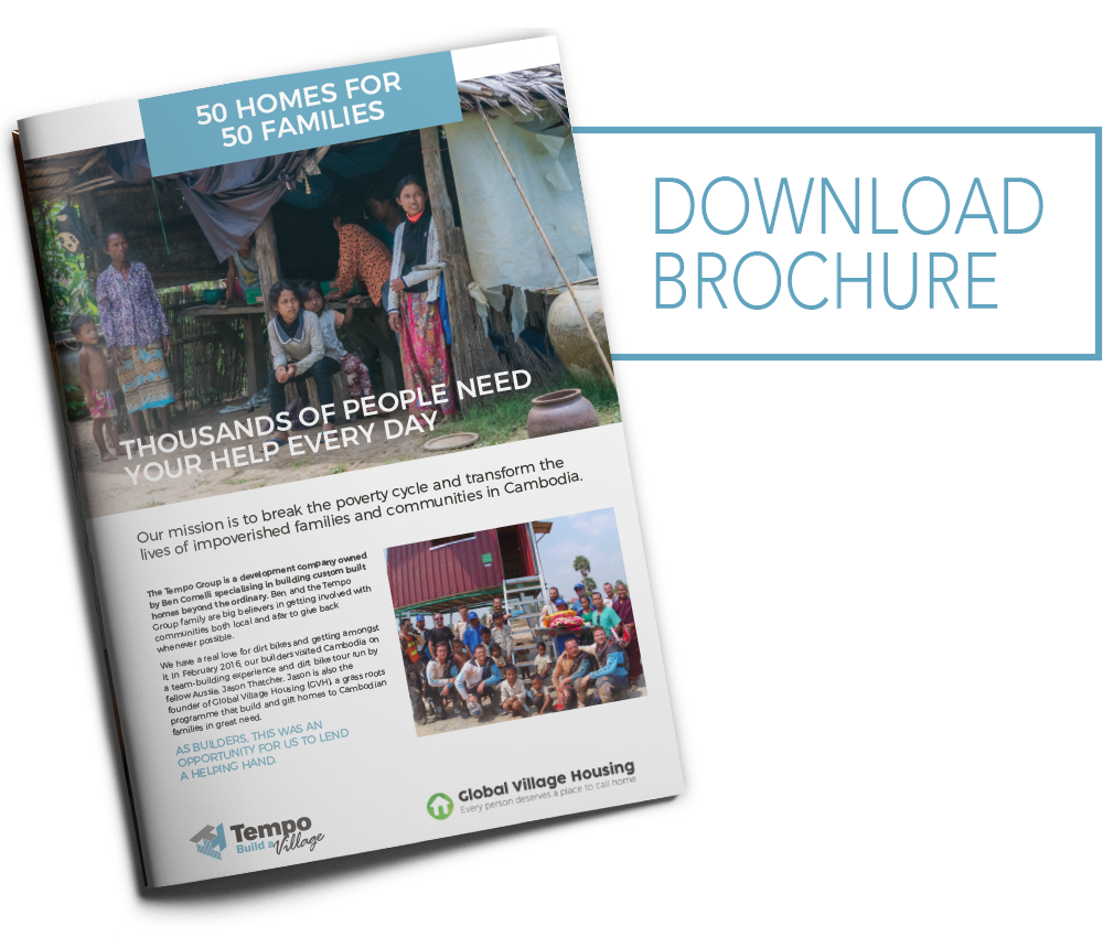 Download 50 Homes for 50 Families brochure