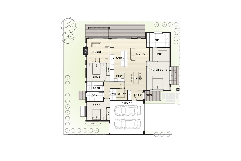 74B Beleura Hill Road Mornington floor plan