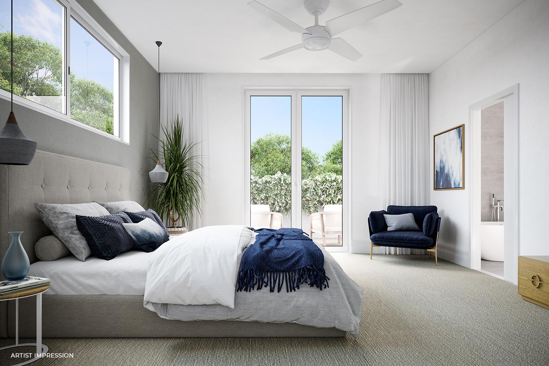 76 Beleura Hill Road Mornington bedroom - Living Room
