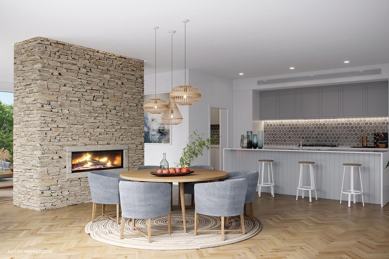 76 Beleura Hill Road Mornington kitchen - Living Room