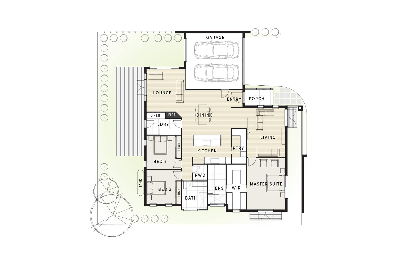 76B Beleura Hill Road Mornington floor plan